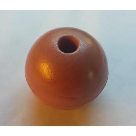 Hard foam ball, 80mm diameter, 200 gram bouyancy, per unit