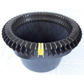 Japalangre Auto basket 90 liter with 65 slots for fish over 10 kg