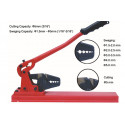 Table crimper for 1.8mm to 5.0mm