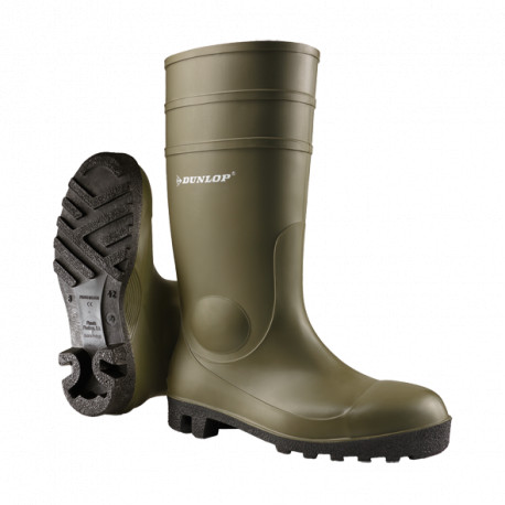Botte de sécurité Dunlop pour l'industrie des procédés